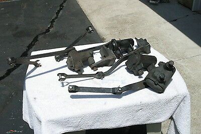 1937 Original Chevy Truck Shock Absorbers 4 PC with extension arms and supports