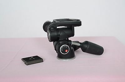 Manfrotto 804RC2 Pan and Tilt Head with Quick Release Plate