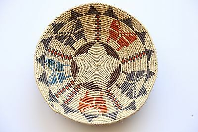 Hand Woven SouthWestern shallow bowl Baskets, approx. 13inches.