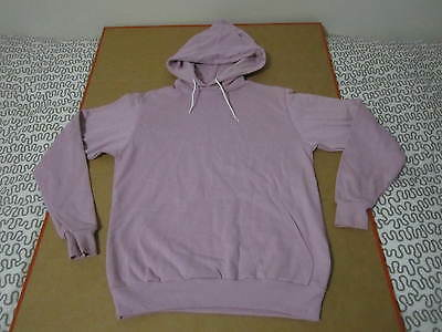 SUPER SOFT BELTON 50 50 Lilac purple sweatshirt hoodie vtg deadstock nos
