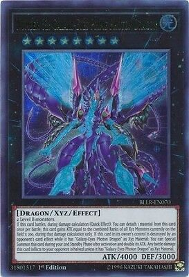 Number 62: Galaxy-Eyes Prime Photon Dragon (BLLR-EN070) - Ultra Rare - 1st Ed.