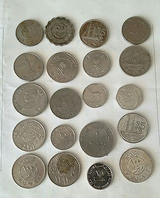 Various Middle East Arabic Coins Lot # 1