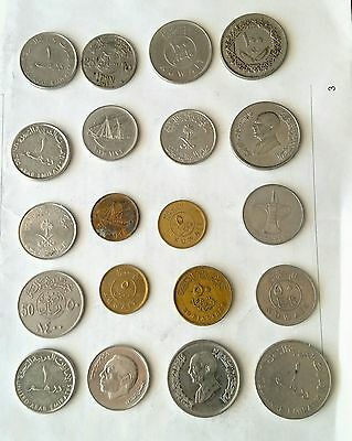 Various Middle East Arabic Coins Lot # 2