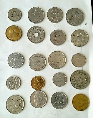 Various Middle East Arabic Coins Lot # 3