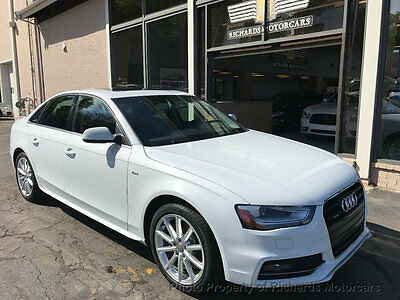"2016 Audi A4 4dr Sedan Automatic quattro 2.0T Premium Plus  Line Package  18"" Wheels  Navigation  Back Up Camera  Moonroof  Push to Start"