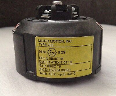 Micro Motion , Inc.   Type 700   ,  Tested ,   90 Days  Warranty