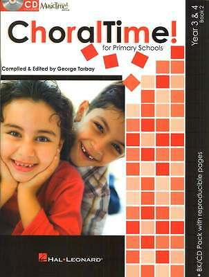 Choraltime! for Primary Schools - Year 3 & 4, Book 2 - Choral Music Book with CD