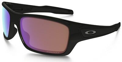 Oakley Sunglasses TURBINE  Polished Black Frame w/ Prizm Golf Lens