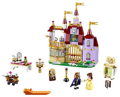 Beauty and the Beast Princess Belle's Enchanted Castle Friends Building Blocks