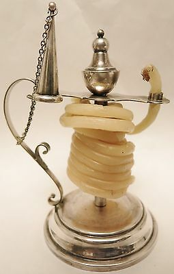 Great Old Exeter Silver Plated Candle Wax Jack