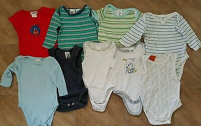 Mixed lot of baby boy rompers!! Size 000!!