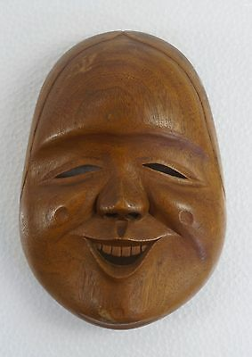 Japanese Wooden Mask
