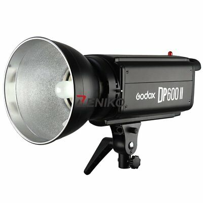 Godox DP600II 600W GN80 2.4G Photography Studio Strobe Flash Light Head 220V