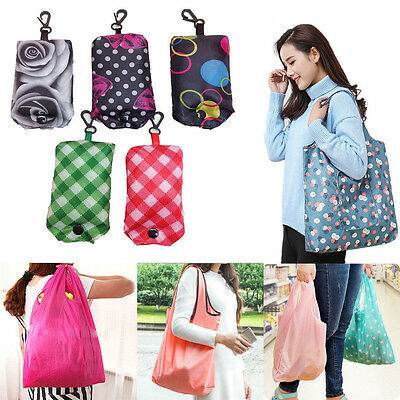 Foldable Handy Shopping Bag Reusable Tote Pouch Recycle Storage Handbags ce