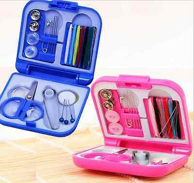 Stylish DIY Home Tools Portable Mini Sewing Box + Needle Threads Sewing Kits