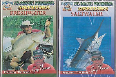 Classic Fishing Adventures Fresh & Saltwater Series Featuring Greg Norman 2Dvd'