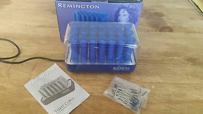 Retro Remington Tight Curls Wax Core Hair Rollers - Complete & Boxed - Prom Hair