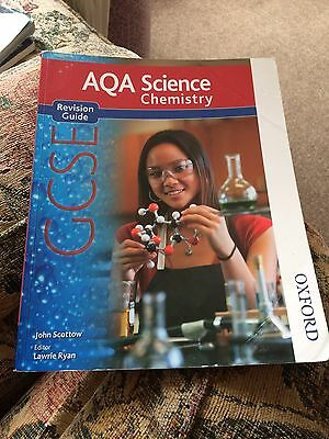 Aqa GCSE Science Chemistry Revision Guide John Scottow