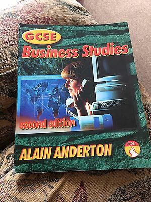 GCSE Business Studies Textbook Alain Anderton