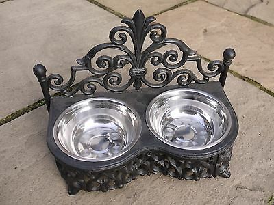 Special Cat Or Small Dog Bowls With Stand