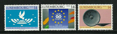 Luxembourg 915-7 Mint Never Hinged Set - Europe