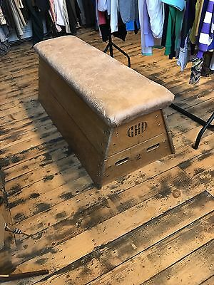 Vintage 70s school gym Vaulting Horse Pommel Shop Display Bar