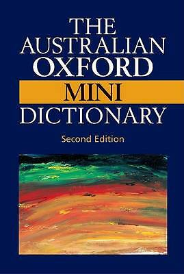 The Australian Oxford Mini Dictionary Third Edition