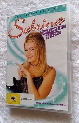 The Sabrina Teenage Witch : Season 2 (DVD, 4-Disc) R-4, LIKE NEW, FREE SHIPPING
