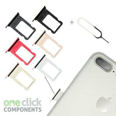 New Replacement Waterproof Sim Card Tray Slot Holder for Apple iPhone 7 + 7 Plus