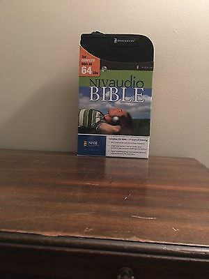 NIV Audio Bible Voice Only Read By Charles Taylor 64 CDs Complete