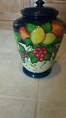 Hand Painted for Nonni large cookie jar