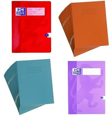 School Exercise Note Books Ruled Lined Margin 5Mm Squares A5 Maths 48 80 Page