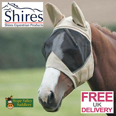 SALE Shires Fly Mask with Ears RRP 14.99