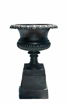 Cast Iron Urn or Planter with Pedestal