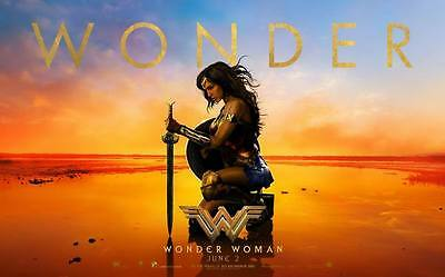 """10508 Hot Movie TV Shows - Wonder Woman 2017 23 38""""x24"""" Poster"""