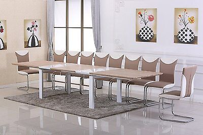 NEW Executive Extending Boardroom Meeting Office Conference Room Table 18 Seats