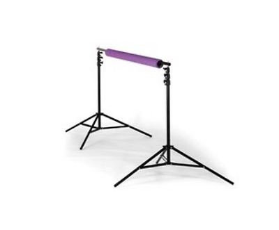 Calumet MF6090 Background Support w/ 2  4-Section Stands, Crossbar and Case