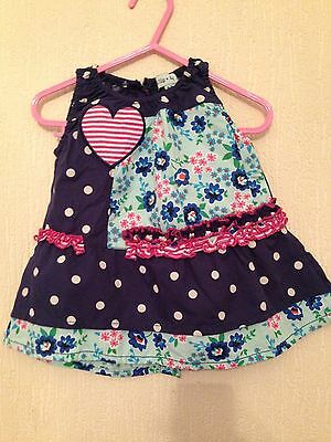 Super cute Lilly & Sid baby summer dress, 0-3 months, hardly worn