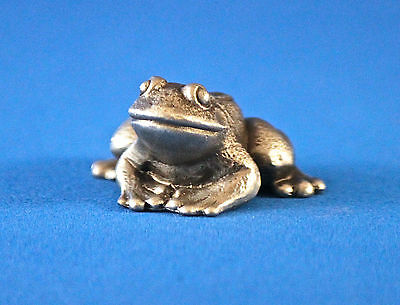 Hudson Pewter Noah's Ark Collection female FROG #4549 retired BONUS