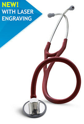 3M™ Littmann® Master Cardiology™ 2163 Burgundy - Engraving 1 to 2 days delivery