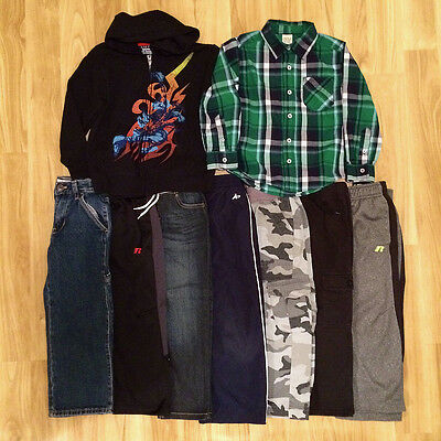 Boys Size 4/5 Clothing Lot of 9 - Tops, Jeans & Pants 4 5 - EUC GUC or LN!