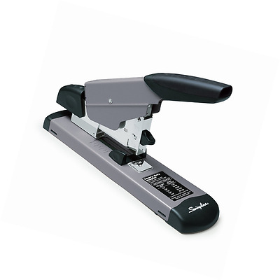 Swingline Heavy Duty Stapler, 160 Sheets Capacity, Black / Gray (S7039005)