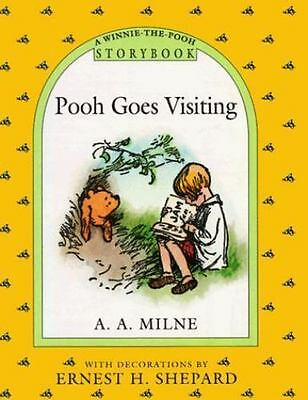 Winnie-The-Pooh: Pooh Goes Visiting by A. A. Milne (1993, Hardcover)