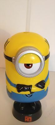 Despicable Me 3 Movie Theater Exclusive 22 oz Minion Cup With Straw