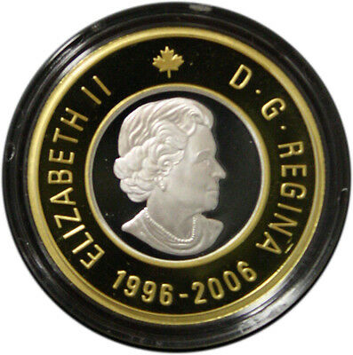 2006 Tenth Anniversary $2 Gold Coin