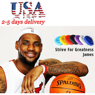 James Unisex Silicone Bracelet Rubber Basketball Celebrity Sport Fashion New US