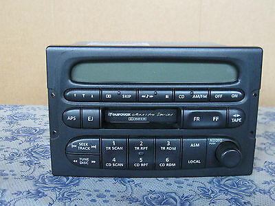Holden Vt Vx Commodore Eurovox Stereo Tape Deck & Am/fm Radio Without Pin Code