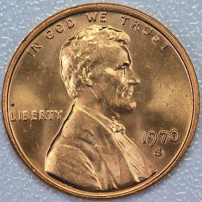 1970 S Lincoln Memorial Cent Uncirculated  - *DoubleJCoins* 51.5A9