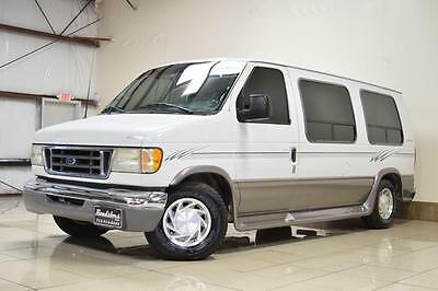 2003 Ford E-Series Van CONVERSION LOW-TOP FORD  E150  REGENCY CONVERSION VAN LOW-TOP ONE OWNER TV THIRD ROW SOFA