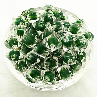 New Hot 20 Pcs 10mm transparent Seed Spacer beads Jewelry Fitting craft 07